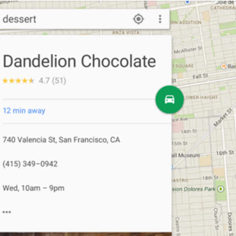 Example of material design